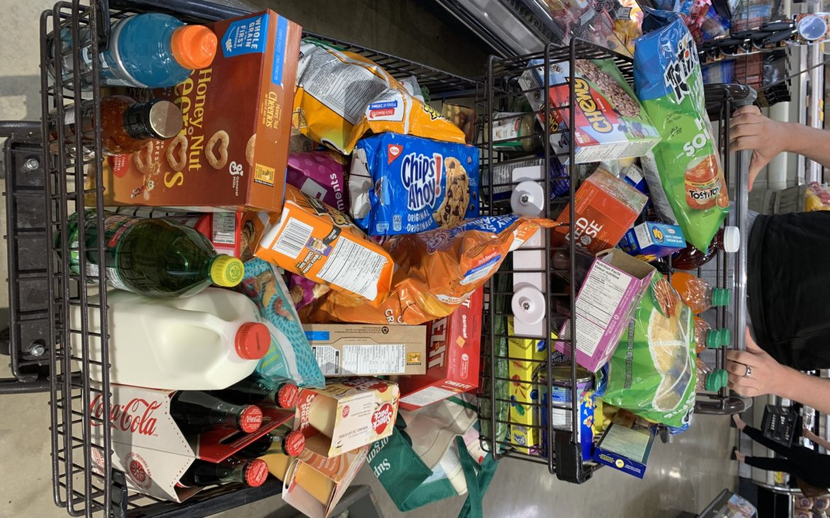 TRULY GOING ALL IN – normal grocery stores, processed food, and up 40 lbs